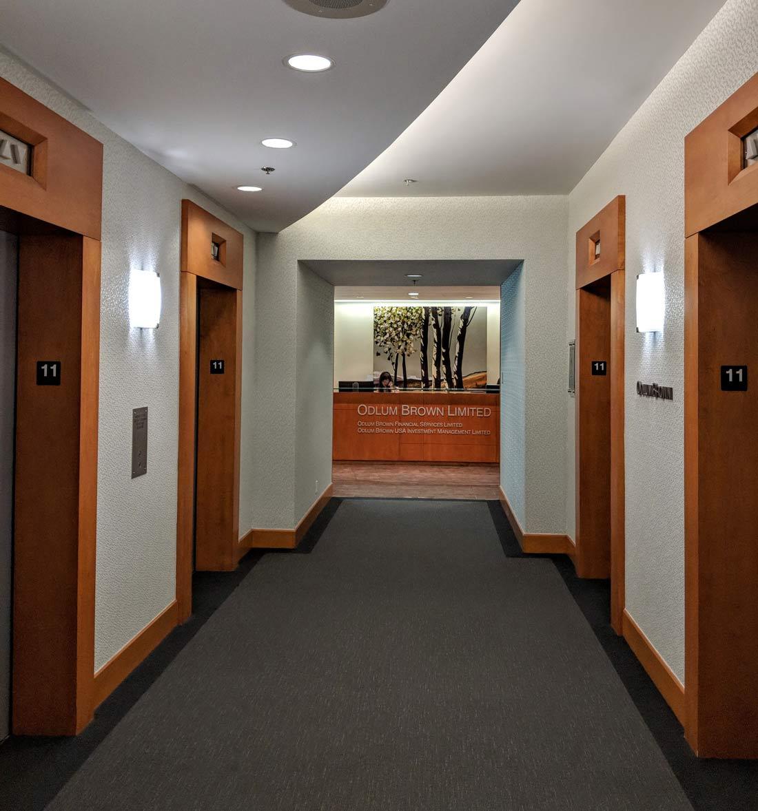 Odlum Brown - Entrance